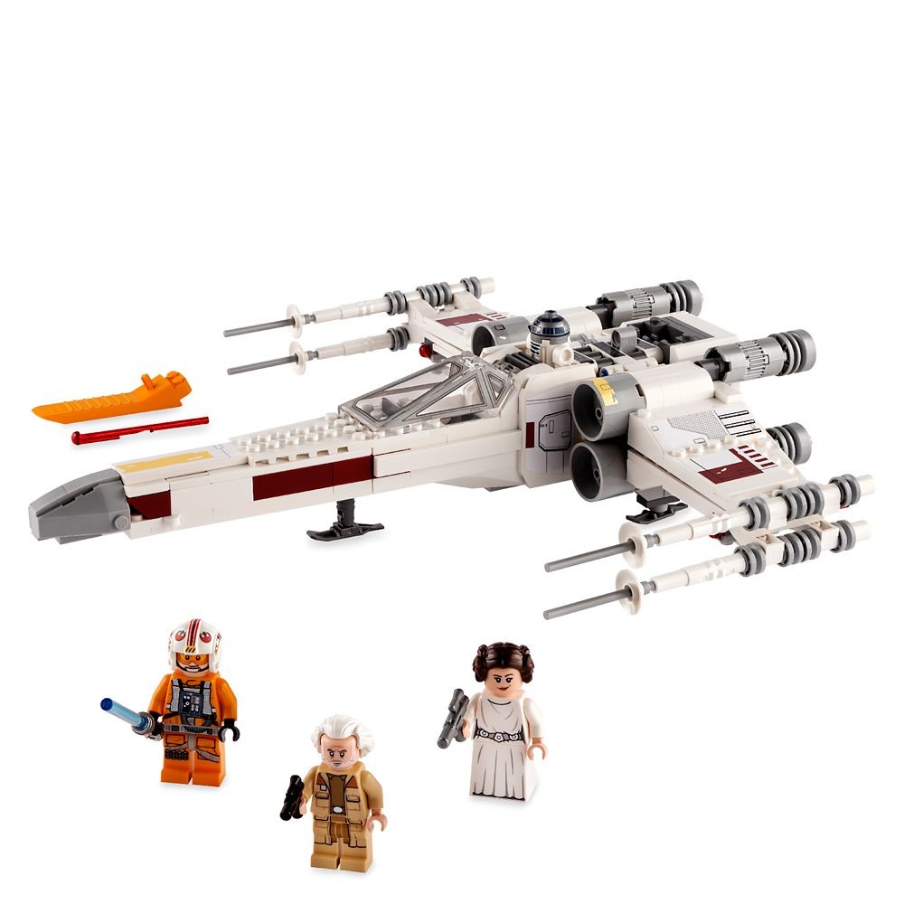 Lego Star Wars O X-Wing Fighter de Luke Skywalker - Lego 75301