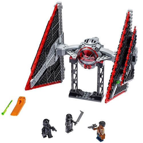 Lego Star Wars TM Nave Tie Fighter Sith com 470 Peças - 75272