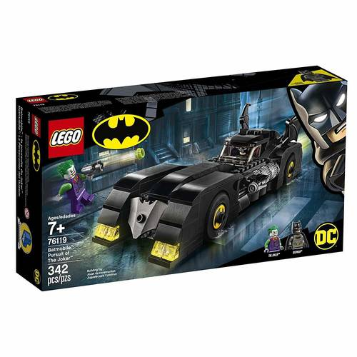 Lego Super Heroes Batmobile Perseguição Do Joker 76119