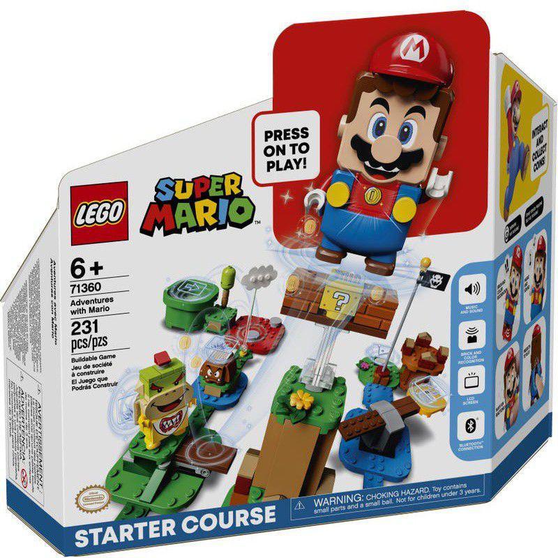 Lego Super Mario Aventuras Com Mario Início - Lego 71360