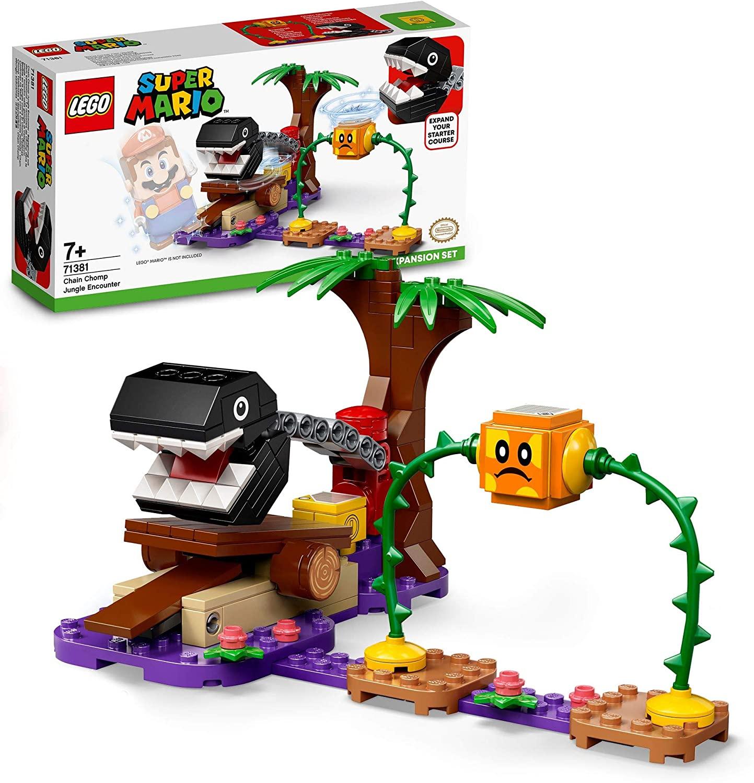 Lego Super Mario Confronto na selva com Chain Chomp - Lego 71381