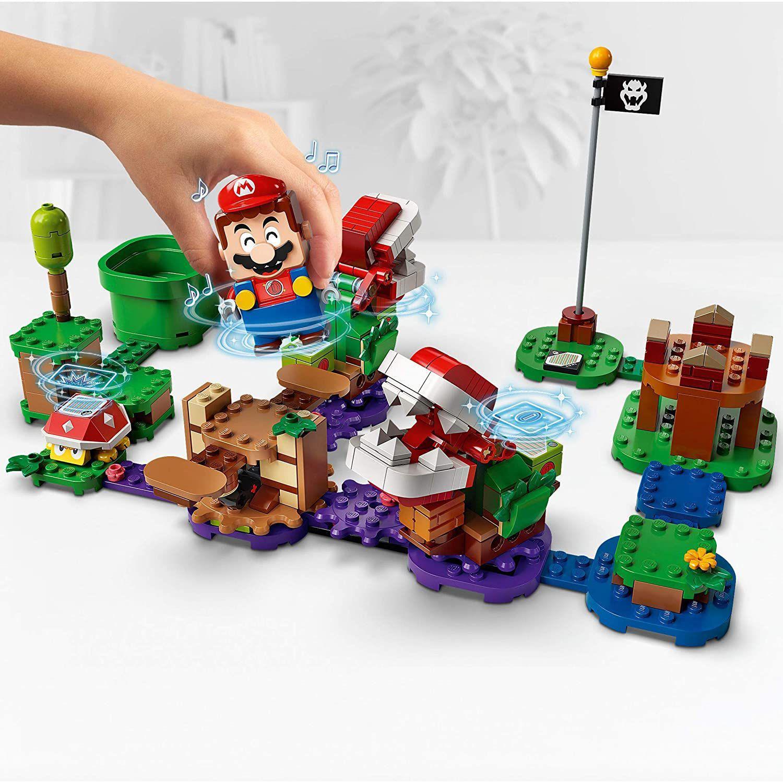 Lego Super Mario o Desafio das Plantas Piranhas expansão - Lego 71382