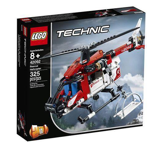 Lego Technic Helicóptero de Resgate 42092