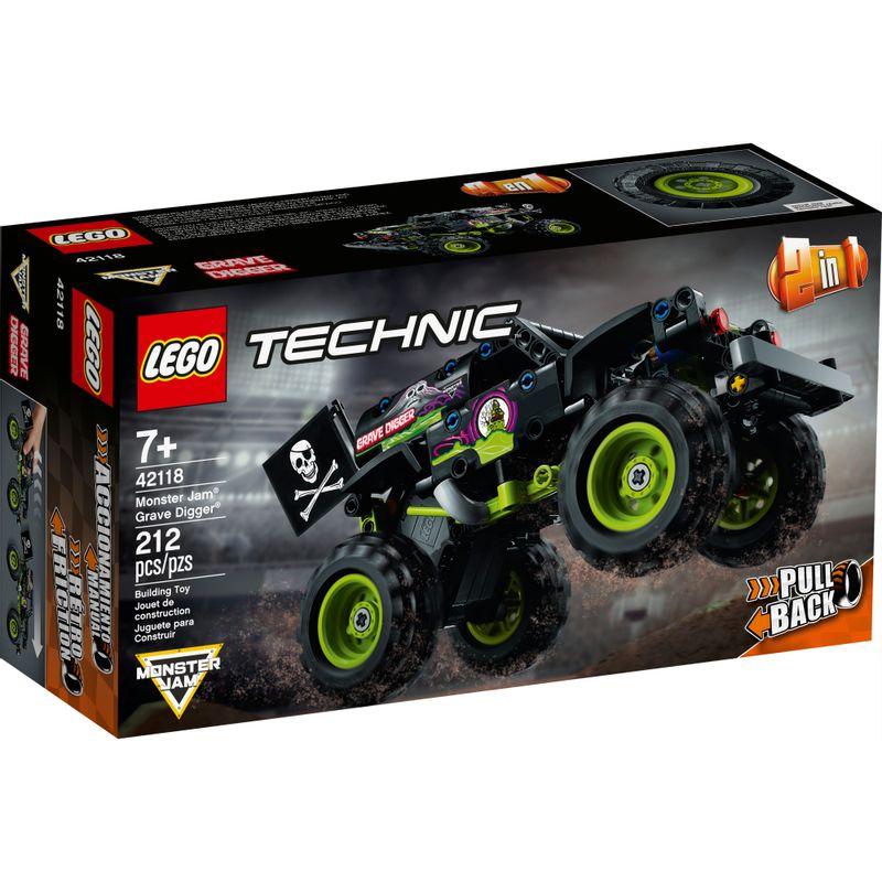 Lego Technic Monster Jam Grave Digger - Lego 42118