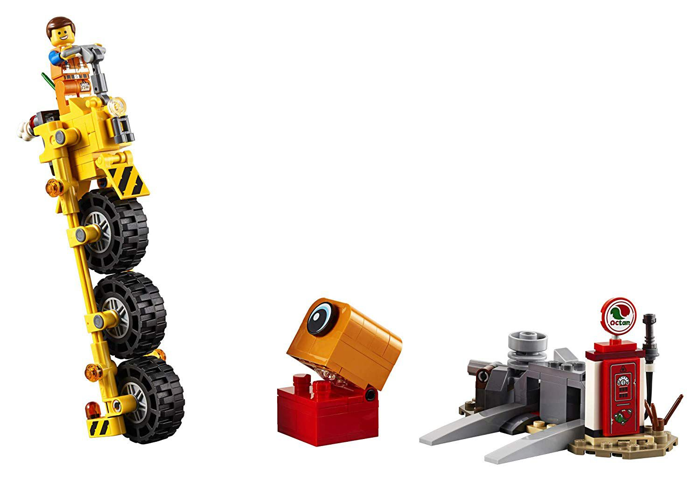 Lego The Lego Movie 2 Triciclo Do Emmet 70823