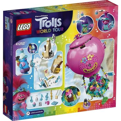 Lego Trolls A Aventura no Balao de Poppy 250 Peças - 41252