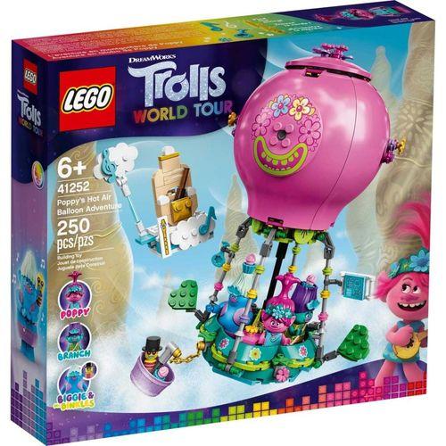 Lego Trolls A Aventura no Balao de Poppy com 250 Peças - 41252