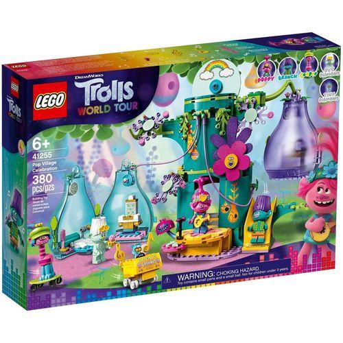 Lego Trolls Festejo na Aldeia Pop 380 Peças - 41255