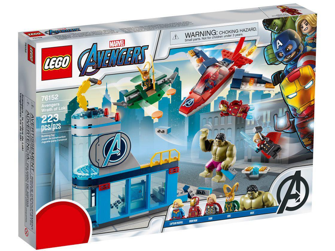 Lego Vingadores A Ira de Loki - Lego 76152