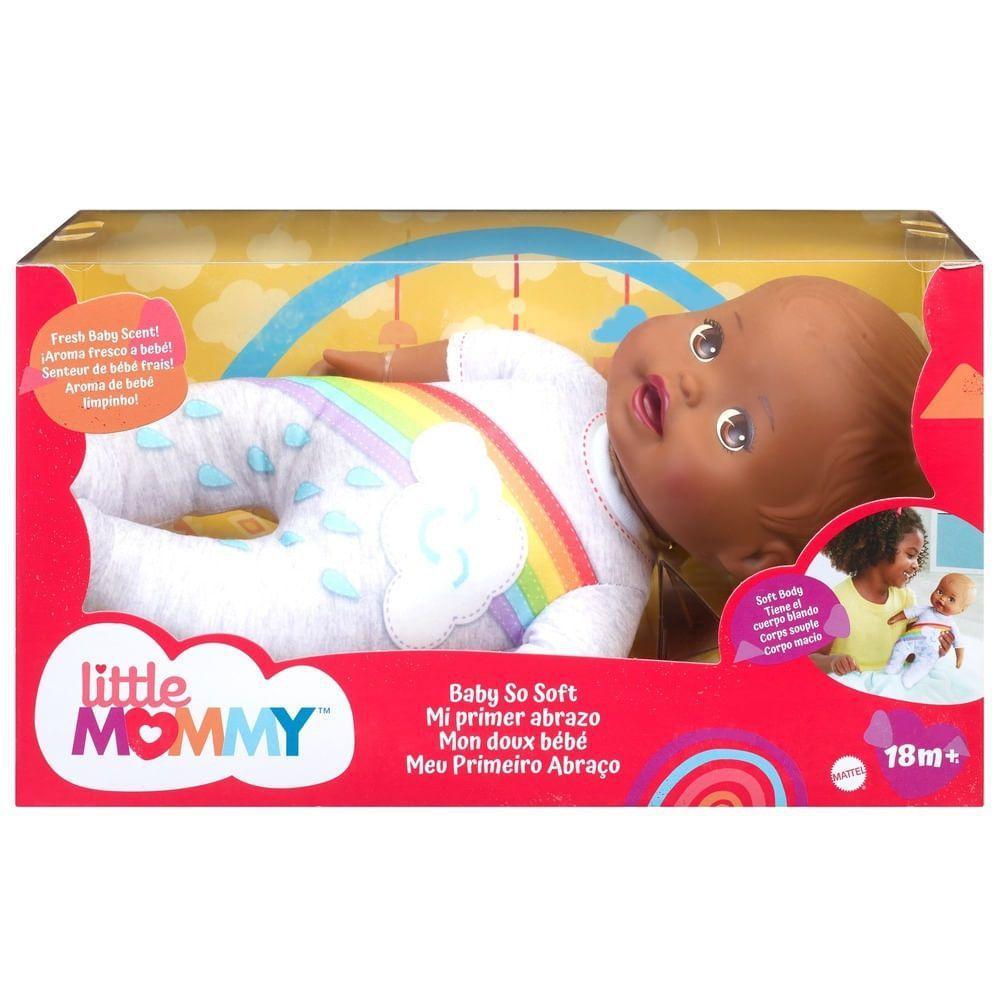 Little Mommy Negra Meu Primeiro Abraço - Mattel GTK60