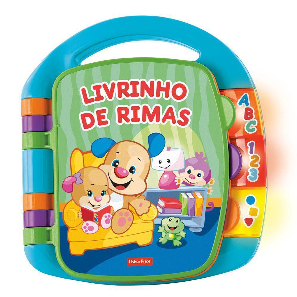 Livro de Rimas Fisher Price - Mattel CDH62