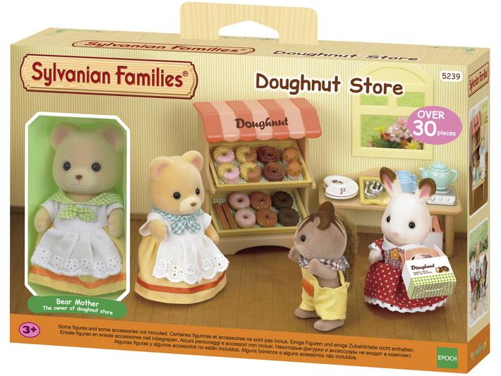 Loja de Donuts Sylvanian Families - Epoch 5239