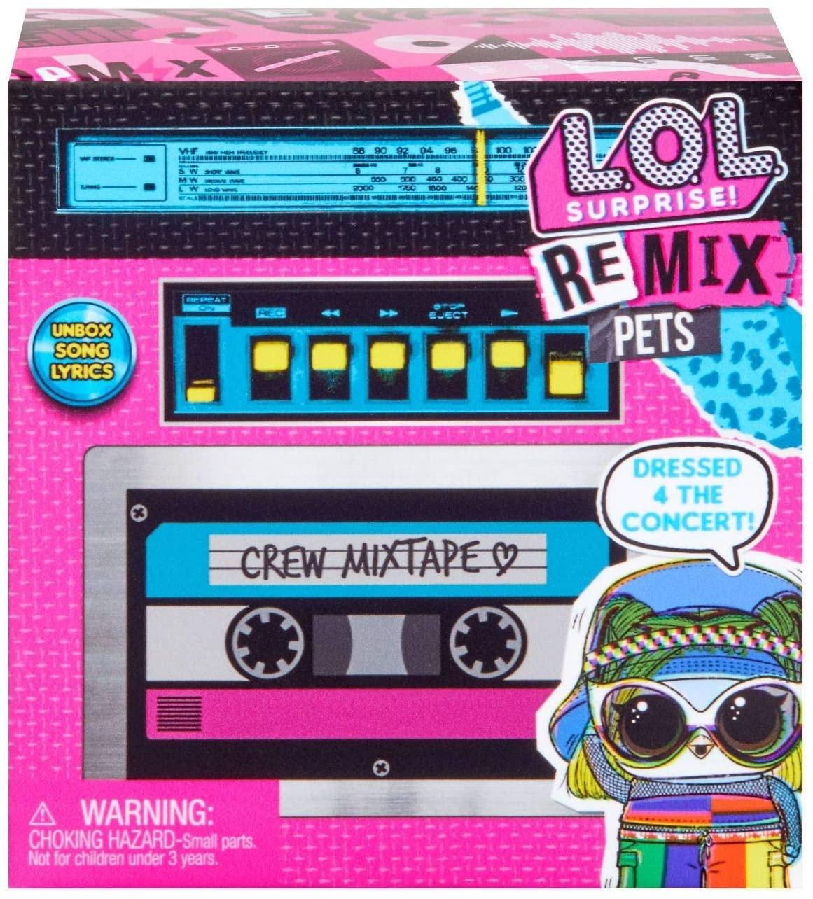 LOL Suprise Remix Hairflip Pets - Candide 8956