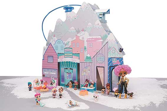 Lol Surprise Winter Disco Chalet 95 Surpresas 8933 - Candide