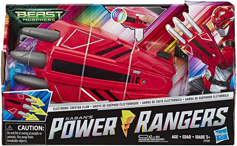Luva Power Rangers Garra de Chita Eletrônica - Hasbro E5908