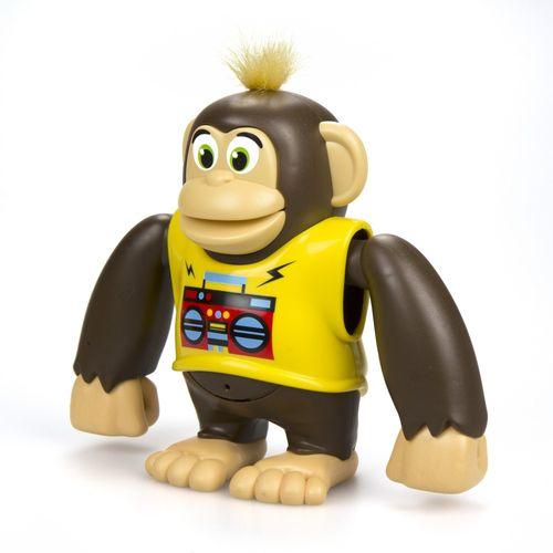 Macaco Interativo Chimpy Ycoo Amarelo 3300 - Candide