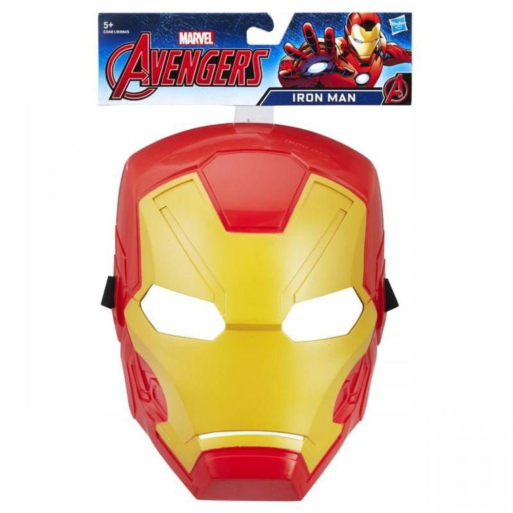 Máscara Básica Homem De Ferro C0481/B9945 - Hasbro