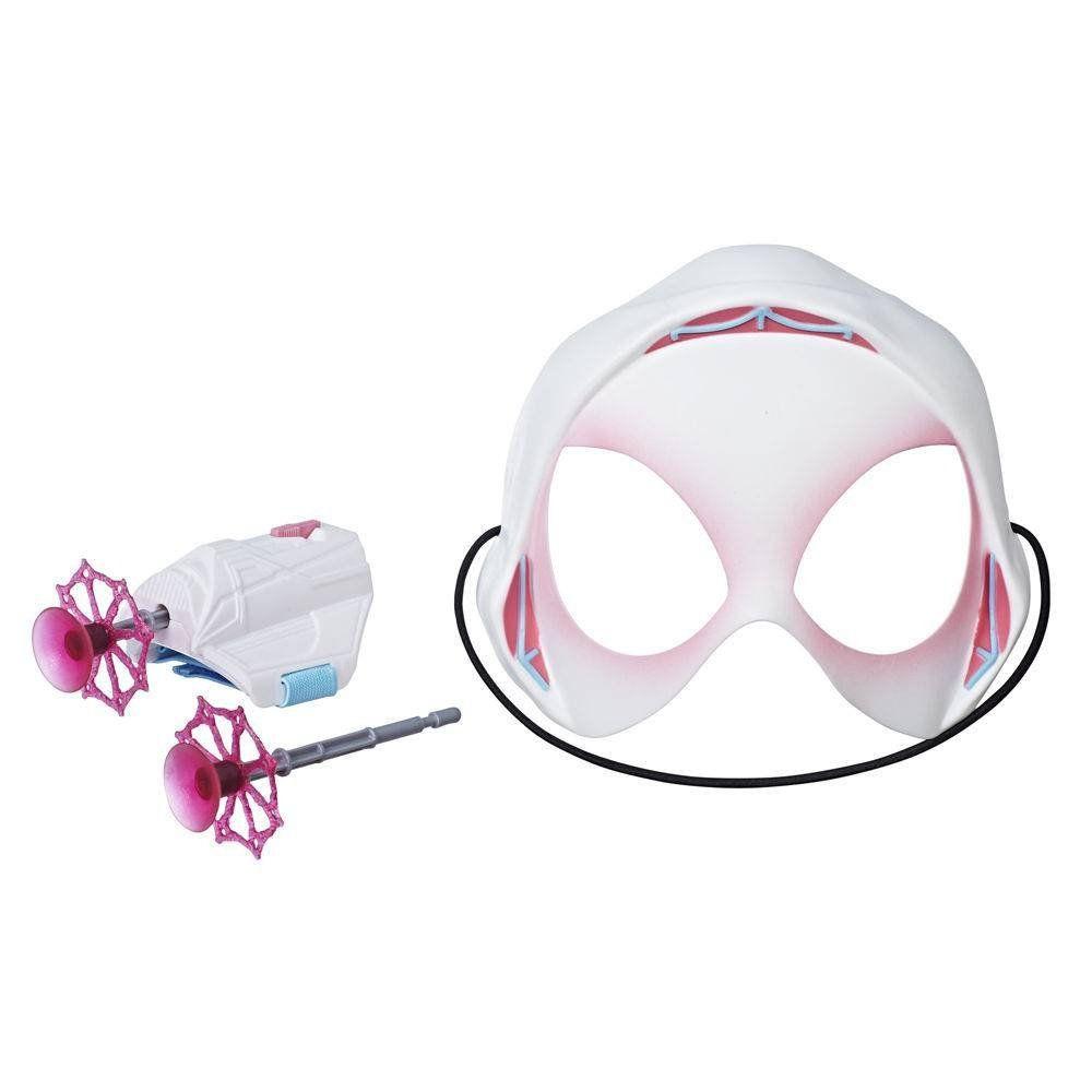 Máscara Com Lança Teia Homem Aranha - Disney Spider Gwen - hasbro