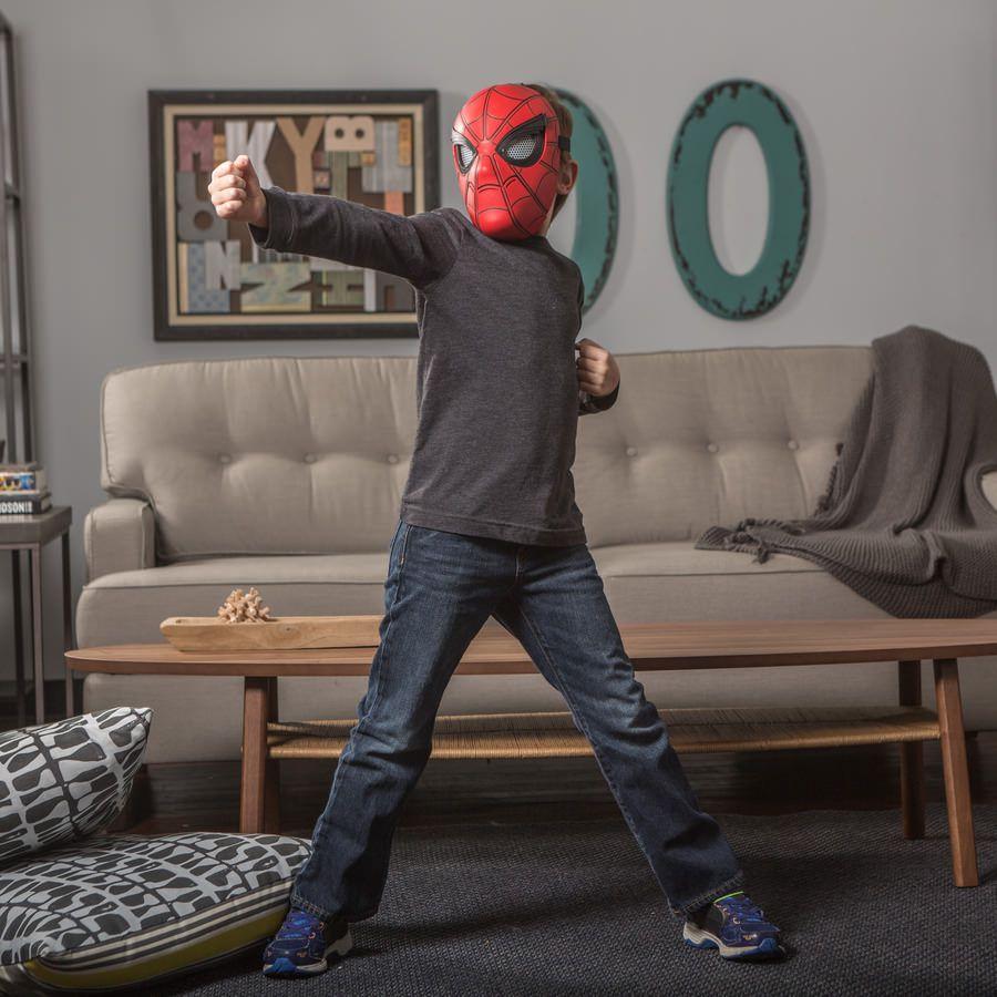 Máscara Visão Aranha Spider-Man Homecoming Marvel Hasbro B9695