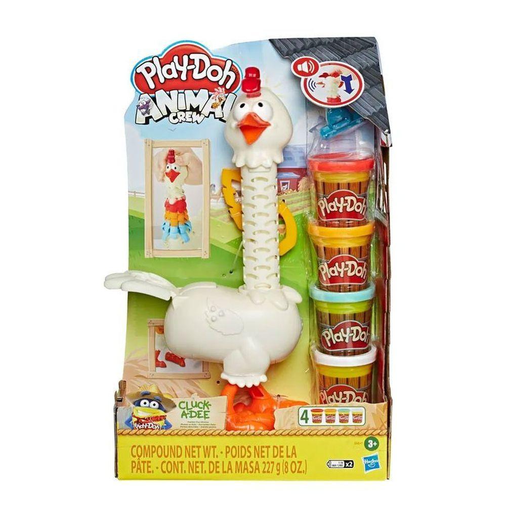 Massa de modelar  Play-doh Galinha Penosa - Hasbro E6647