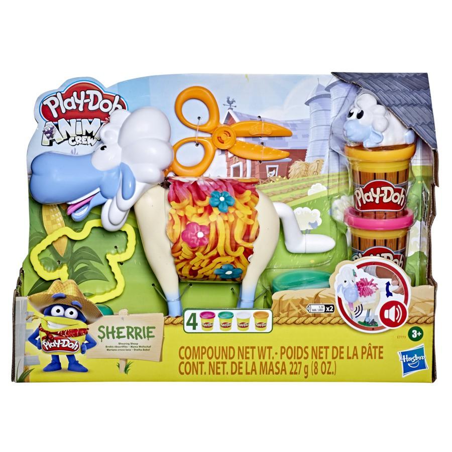 Massinha Play-Doh Animal Crew Fazenda Ovelha - Hasbro E7773