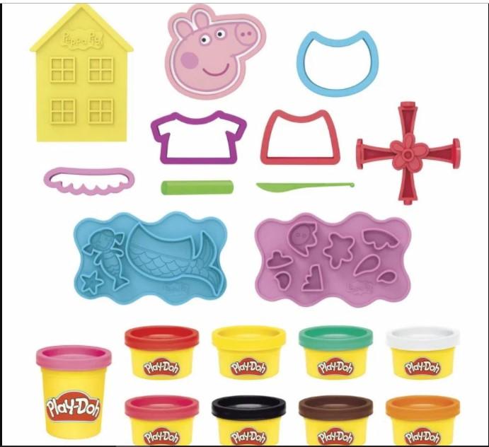 Massinha  Play- Doh Contos Da Peppa Pig - Hasbro F1497