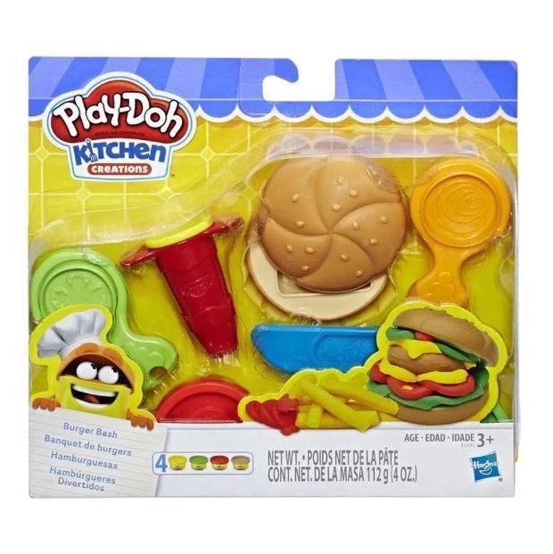 Massinha Play - Doh Hambúrgueres Divertido - Hasbro E2391