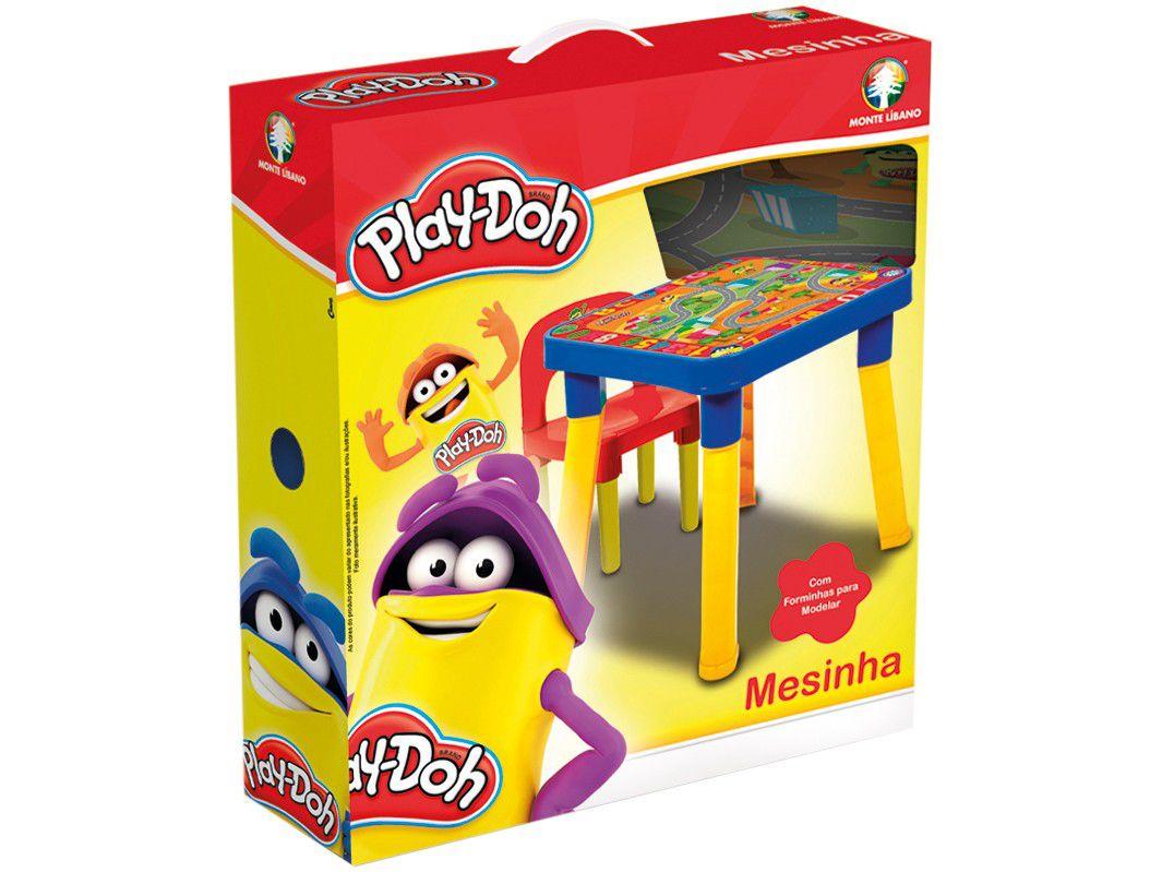 Mesa com Cadeira e Acessórios Play Doh Monte Libano HA9800