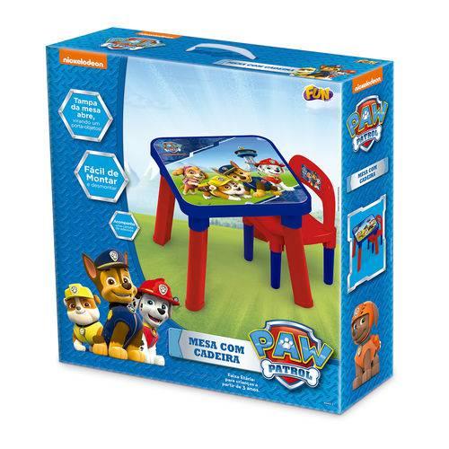 Mesa com Cadeira Patrulha Canina - Fun 83432