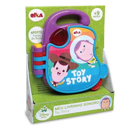 Meu Livrinho Sonoro - Toy Story Baby 1105 Elka