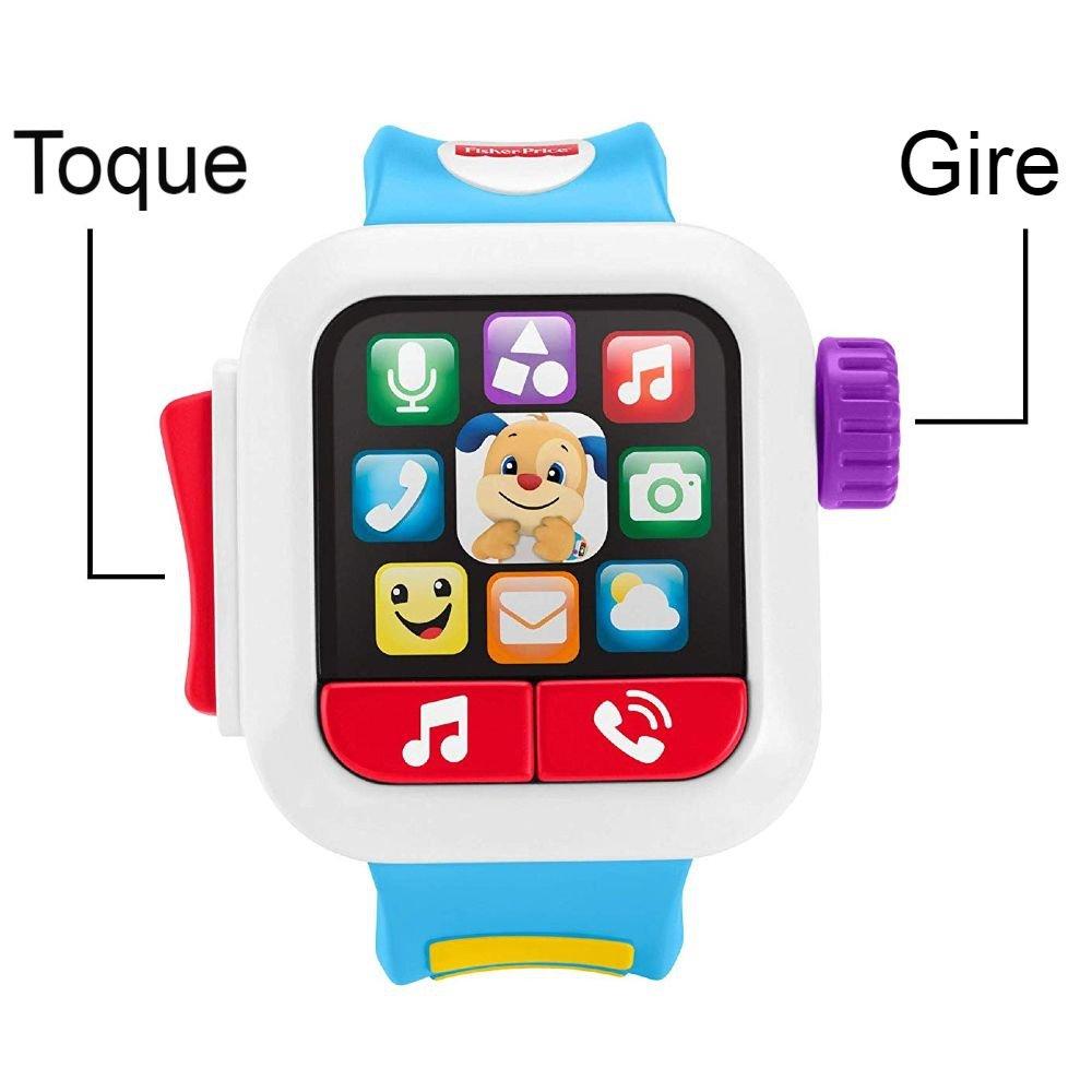 Meu Primeiro Smartwatch Fisher Price - Mattel GMM55