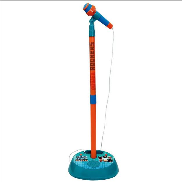 Microfone com Pedestal Power Rockers - Fun F00054