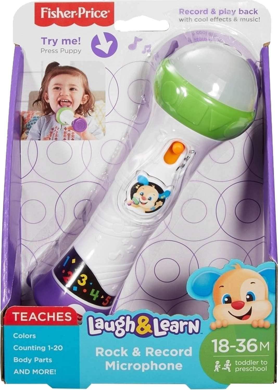 Microfone do Cachorrinho Aprender e Brincar - Fisher Price FBR74