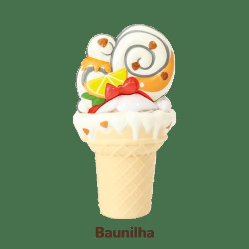 Mini Boneca 13 Cm Gelateenz com Cheirinho Sorvete Torta de Baunilha 5106 - DTC