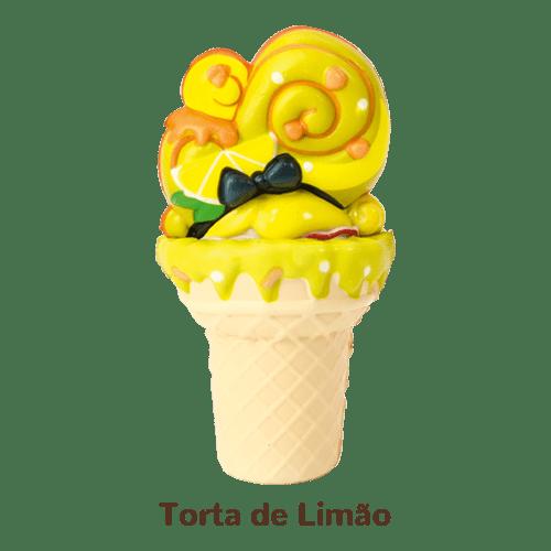 Mini Boneca Gelateenz c/ Cheiro Sorvete Torta 5106 - DTC