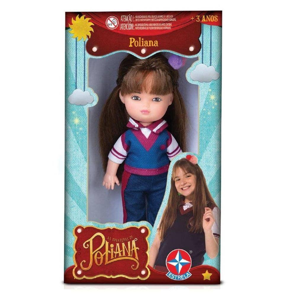 Mini Boneca Poliana As Aventuras De Poliana - Estrela