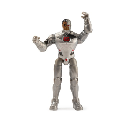 Mini Figura Articulada DC Comics Liga da Justiça Cyborg - Sunny 2189