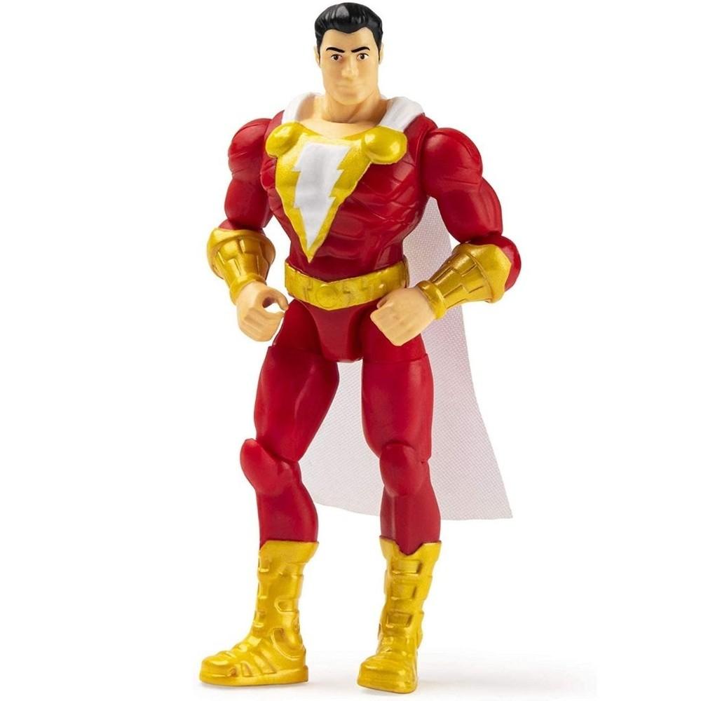 Mini Figura Articulada DC Comics Liga da Justiça Shazam - Sunny 2189