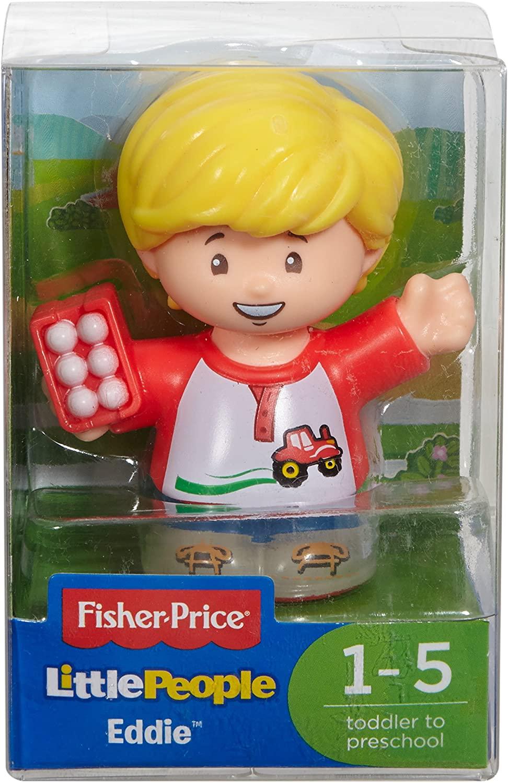 Mini Figura Little People Eddie - Fisher-Price DVP63