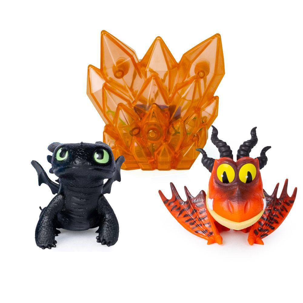 Mini Figuras Como Treinar Seu Dragão Banguela e Pesadelo 1455 - Sunny