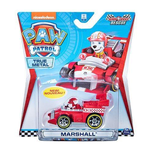 Mini Veículo Patrulha Canina True Metal Ready Race Rescue Marshall - Sunny 1288