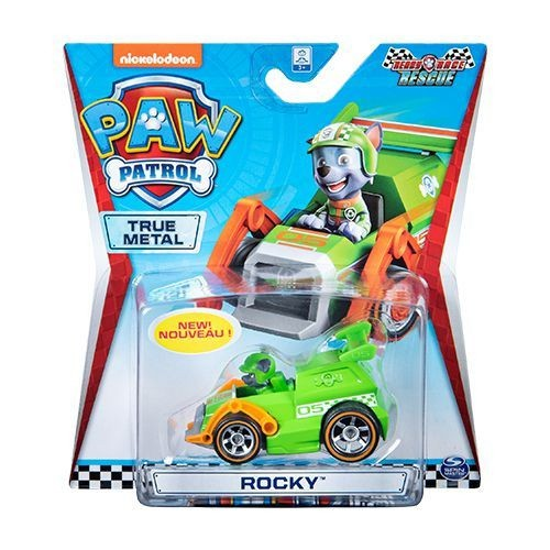 Mini Veículo Patrulha Canina True Metal Ready Race Rescue Rocky - Sunny 1288