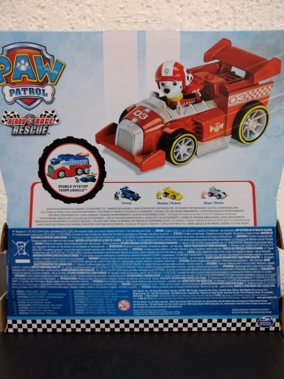 Mini veículo Ready Racer Rescue Com Som Marshall - Sunny 1297