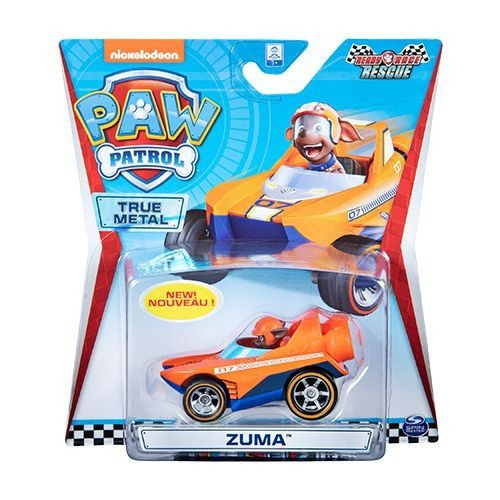 Mini Veículo True Metal Patrulha Canina Ready Race Rescue Zuma - Sunny 1288