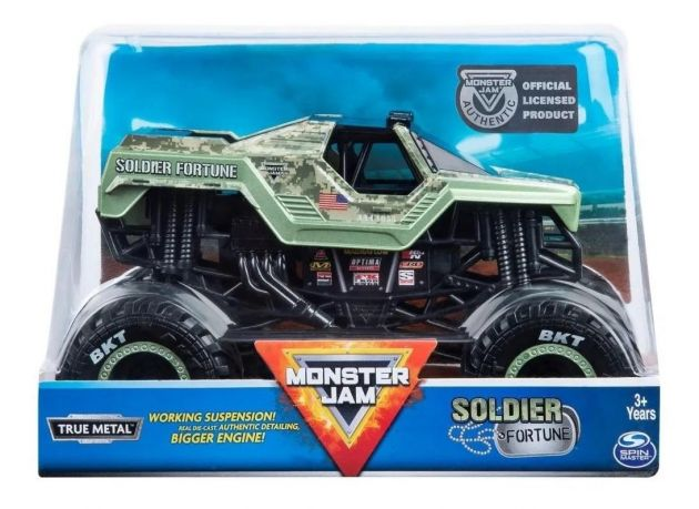 Monster Jam Escala 1:24 - Diecast Collector - Sunny 2022