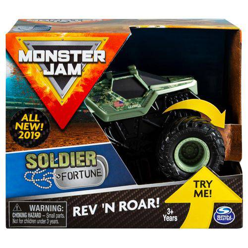 Monster Jam Rev & Roar Soldier Fortune - Sunny 2023