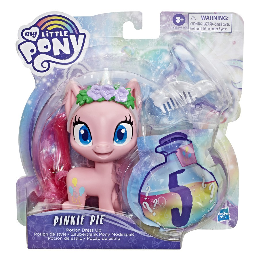 My Little Pony Fluttershy Estilo Sort Rosa - Hasbro E9101/E9140
