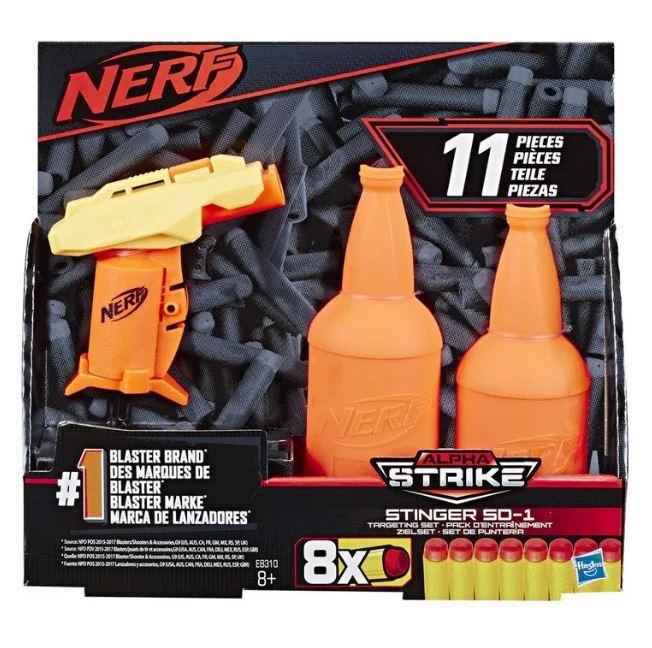 Nerf Alphastrike Stinger com Alvo - Hasbro E8310
