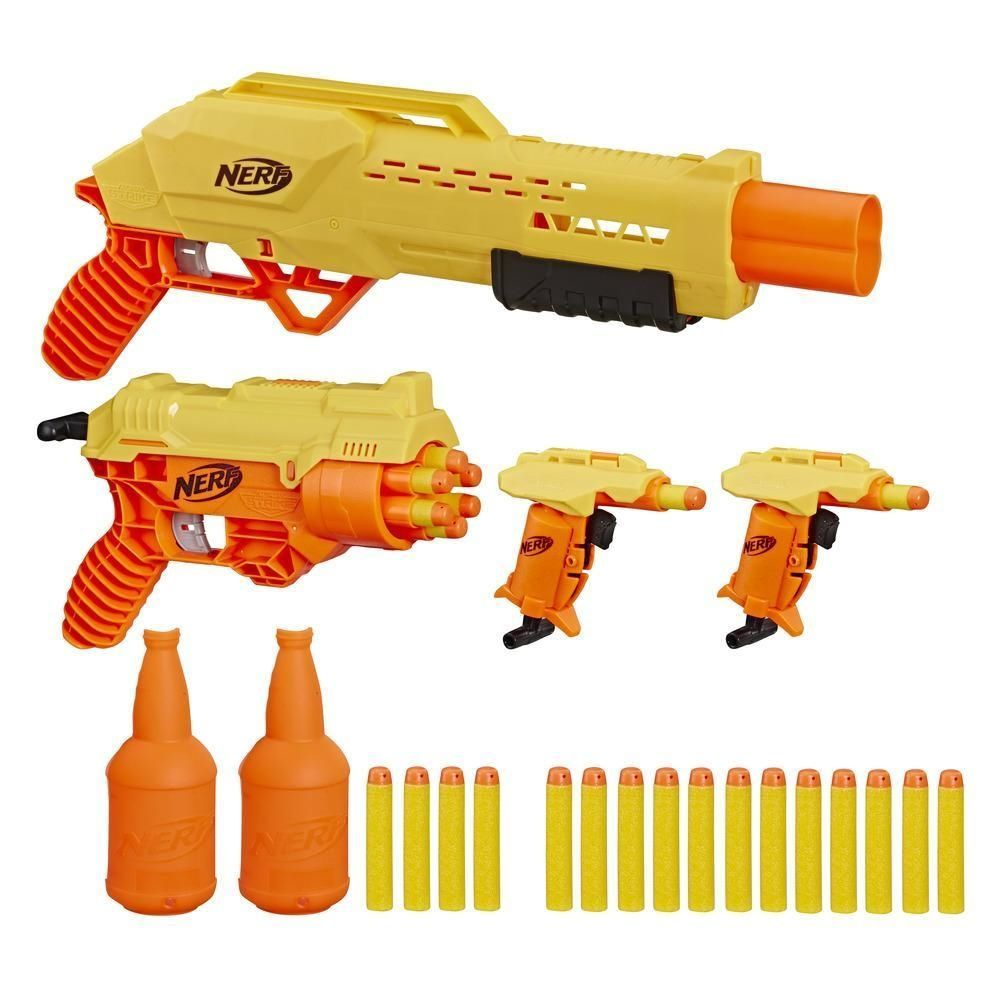 Nerf Kit Lançador Duplo De Treino Alpha Strike Mission Ops E8342 - Hasbro