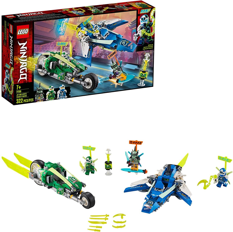 Os Veículos de Corrida do Jay e do Lloyd - Lego 71709